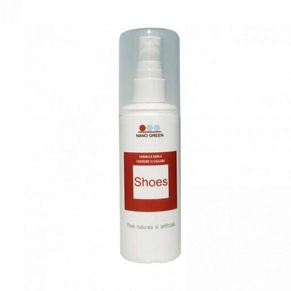 Nano Green Shoes - Formula dubla de curatare si sigilare