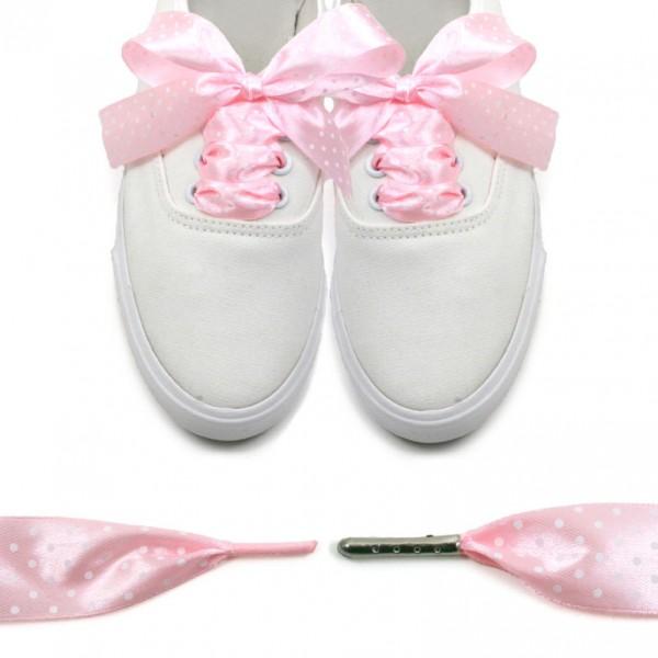 Panglica roz buline