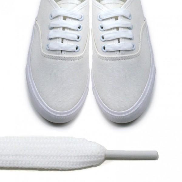 Sireturi albe - 80cm