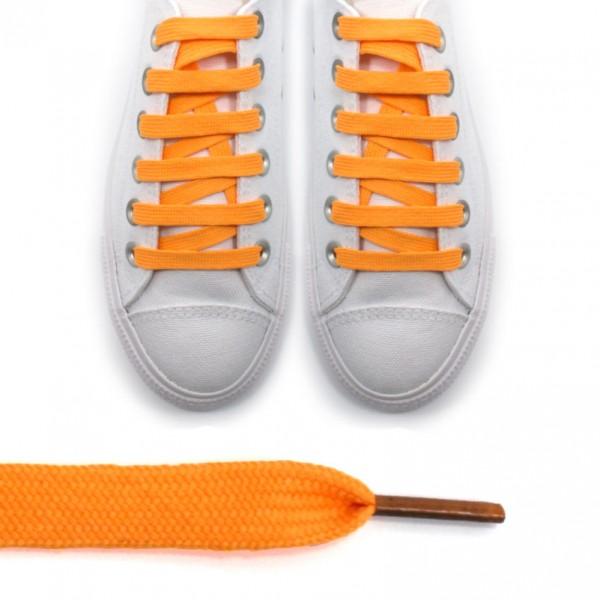 Sireturi portocaliu - lungi 110cm