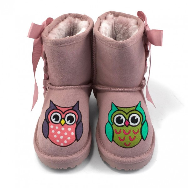 Baby Pink Owls 2