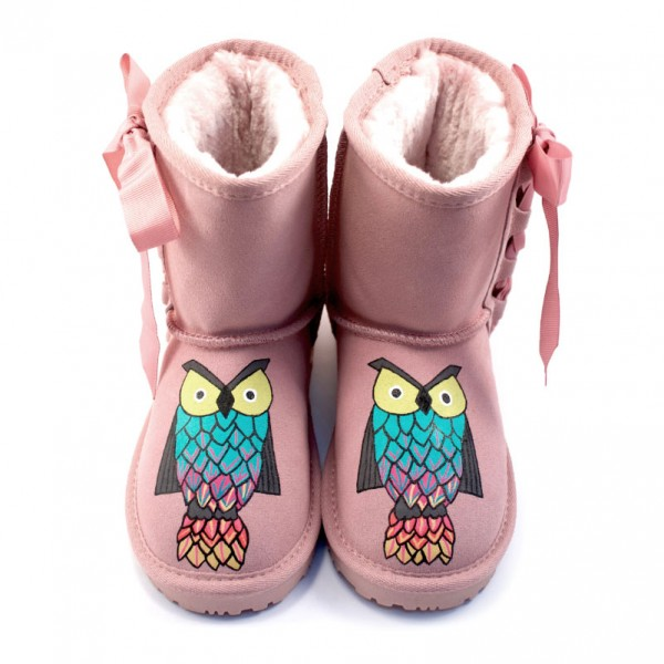 Baby Pink Owls