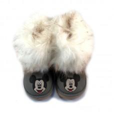 Furry Mickey Grey Gata