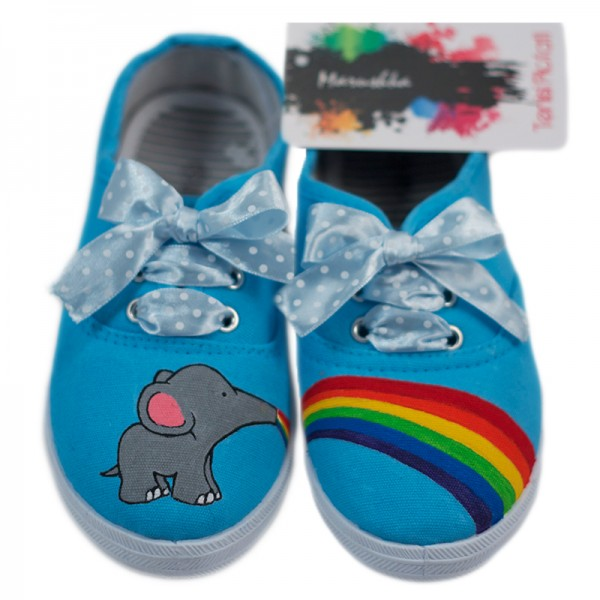 Rainbow Elephant Kids Gata