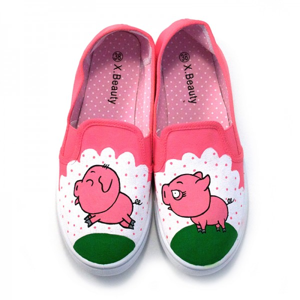 Pink Piggy Gata