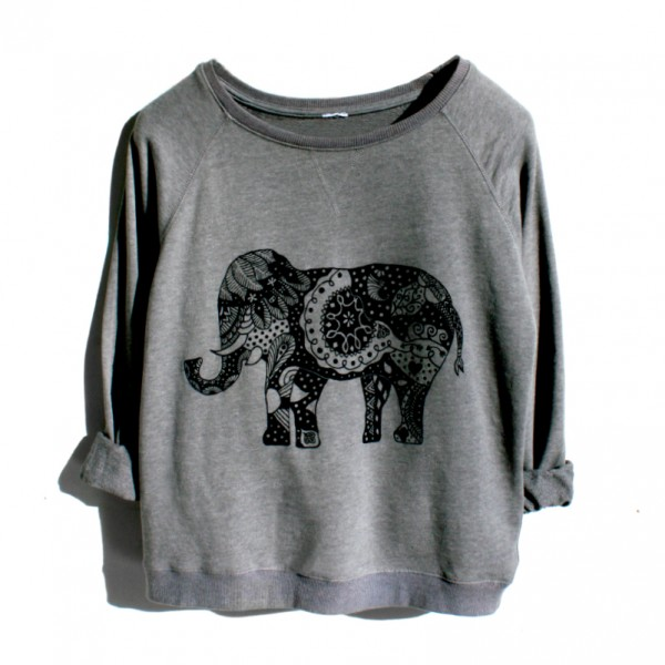 Bluza Grey Elephant